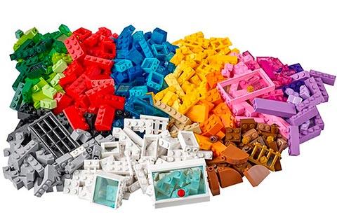Piezas del kit Lego Classic 10703